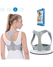 ANOOPSYCHE Geradehalter zur Haltungskorrektur, Schulter Rücken Haltungsbandage Verstellbare, Rücken Geradehalter Corrector Posture Haltungstrainer für Damen und Herren