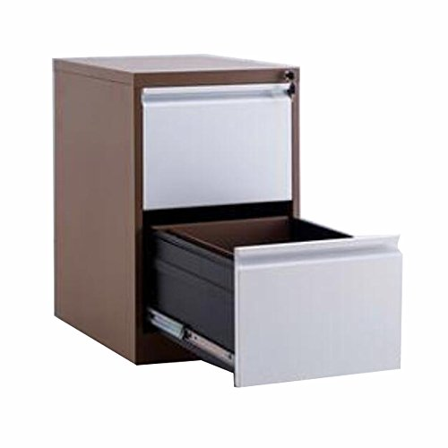 FLYHIGH Lateral Drawer Filing Cabinet 2 Drawers in double Color
