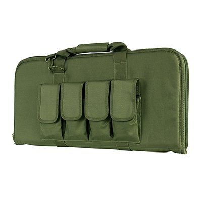 VISM by NcSTAR Full Size Rifle Pistol CASE (2910 Style)/Green
