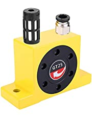Turbine Vibrator -Industrial Grade Pneumatic Turbine Wheel Type Compressed Air Vibrator with Silencer GT-25