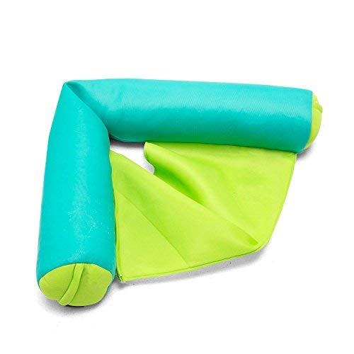 (Big Joe 2045853 Noodle Sling Aqua with Lime seat, One Size,)