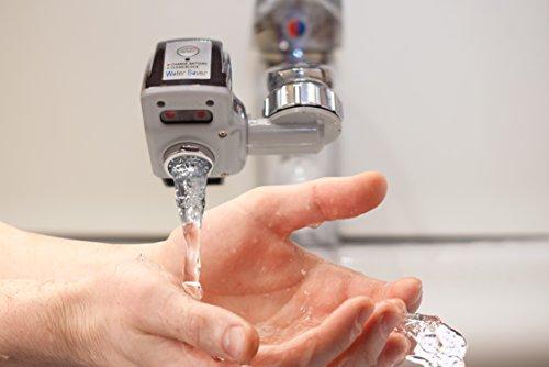 Auto Motion Faucet Sensor – Touchless Faucet Adapter – Hands Free Sensor Faucet – Bath Faucet Motion–sensor Water-Saver - ELITE Pet Water Sink-Sensor Pet-Fountain Motion - Auto water sensor-bowl