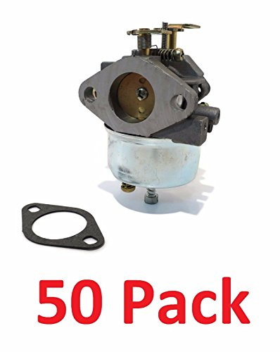 (50) CARBURETORS Carb for Tecumseh 632334A 632111 HM70 HM80 HMSK80 HMSK90 Engine by The ROP Shop by The ROP Shop