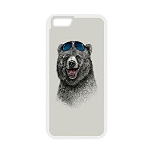 The Happiest Bear iPhone 6 4.7 Inch Cell Phone Case White Iwvcs