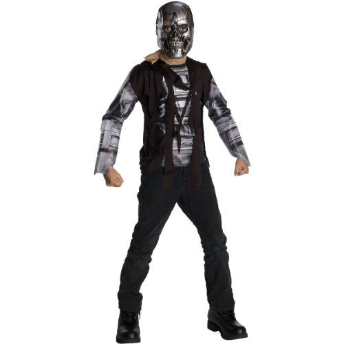 Post Apocalyptic Girl Costume (Terminator Salvation Movie Child's Costume T600, Large)