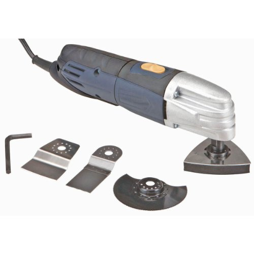 Variable Speed Oscillating Multifunction Power Tool with 4 Attachments and Ca...