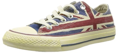 Adulte Union Ctas Converse Mixte Bleu rouge Mode Baskets Jack HTwxqFx