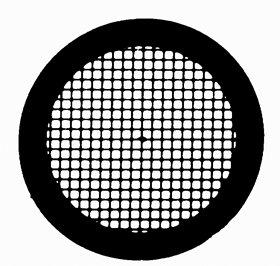 Embra Square Mesh Grid 200 mesh, Titanium, 25/VL by Electron Microscopy Sciences