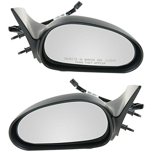 Power Side View Mirrors Left & Right Pair Set for 94-95 Ford Mustang ()
