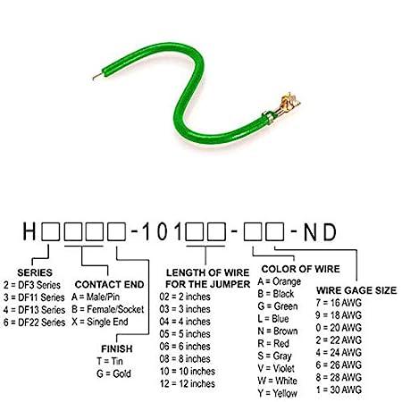 Pack of 250 JUMPER-H1500TR//A2015G//X 12 H2BXT-10112-G4