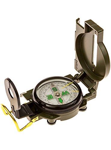 snowmanna-portable Folding Lensaticコンパスサバイバルツールアメリカ軍多機能コンパスアウトドアキャンプハイキング