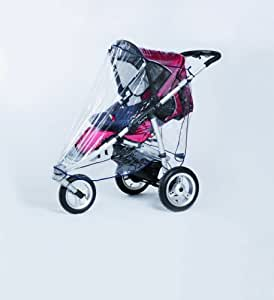 Harmatex 802000 burbuja de lluvia xl para silla de paseo con 3 ruedas beb - Silla de paseo 3 ruedas ...