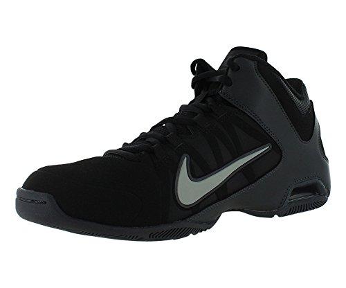 Nike Men's Air Visi Pro IV NBK Black/Mid Grey/Anthrct/Anthrct Basketball Shoes 11.5 Men US