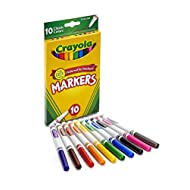 Crayola 10 Ct Fine Line Markers