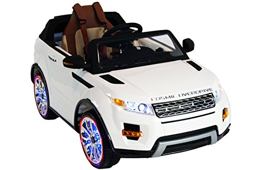 Electric Toy Cars For Girls : Range rover style premium ride on electric toy car for