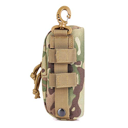LIVIQILY Tactical MOLLE Glasses Shockproof Protective Box Portable Outdoor Sunglasses Case