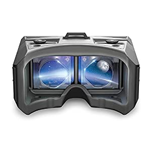 Merge AR/VR Headset - Augmented and Virtual Reality Goggles, STEM Product, 300+ Experiences, Works with iPhone or Android (Moon Grey) (Color: Moon Grey)