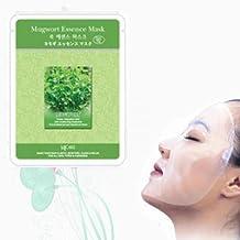 Natural Beauty Mugwort Essence Full Face Mask 10 Pcs by Neru Biotech Face Mask