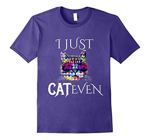 Mens Funny I Can't Even Cute Sunglasses Cat Ears T-Shirt Large - Cat Glasses Ear