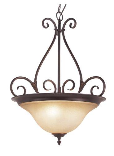 Rob 3 Light Pendant (Trans Globe Lighting 70224 ROB Victorian Three Light Pendant)