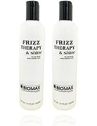 Biomax Frizz Therapy & Shine 12.75 oz (pack of 2)