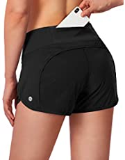 """G Gradual Women's Running Shorts with Mesh Liner 3"""" Workout Athletic Shorts for Women with Phone Pockets"""