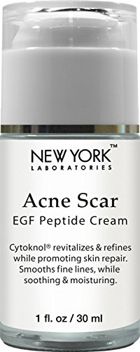 New York Laboratories Acne Scar Removal Cream, Helps with Skin Repair, Reduces the Appearance of Acne Scars, Fine Lines & Wrinkles, 1 oz