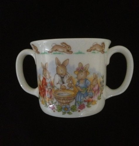 Royal Doulton Brambly Hedge 2-Handled Hug-A-Mug by Jill Barklem ** Christening ** CP1025 Royal Doulton Brambly Hedge