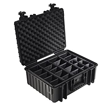 Image of B&W Outdoor.Cases Type 6500 with Padded Divider System (RPD) - The Original Camcorder Cases