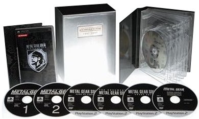 Metal Gear Solid 20th Anniversary: Metal Gear Solid Collection [Cracked Outer Package] [Japan Import]