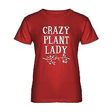 Indica Plateau Crazy Plant Lady Womens T-shirt