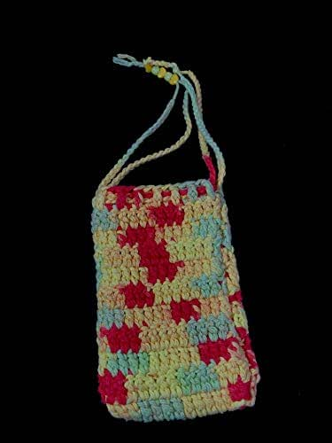 Amazon.com: Checkered Delight Eyeglass/Cell Phone Crochet ...