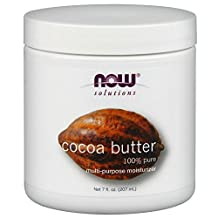 Cocoa Butter (100% Pure) by NOW - 7 oz