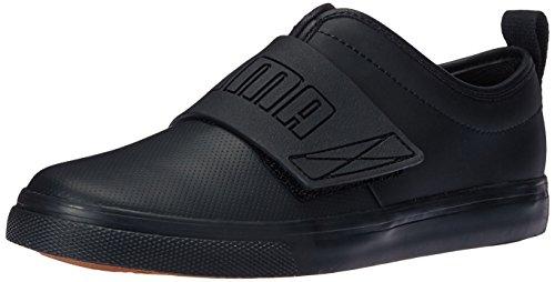 PUMA Unisex El Rey Fun Black, 3 M US Little Kid (Puma Shoes El Rey)
