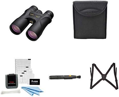 Nikon 16003 PROSTAFF 7S 10×42 Binocular Black Accessory Bundle