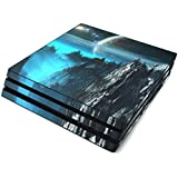 Path to The Stars Full Faceplates Skin Decal Wrap with 2 Piece Lightbar Decals for Playstation 4 Pro