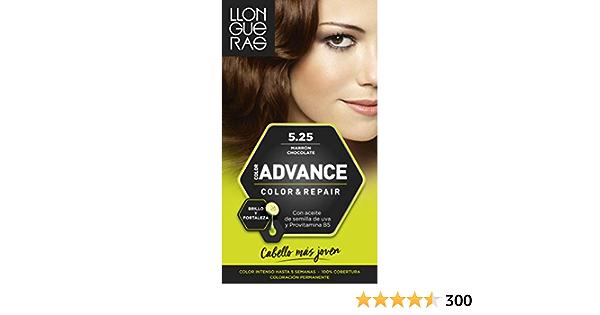 Llongueras Color Advance Tinte, Tono: 5,25 Marron Chocolate ...
