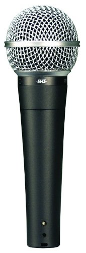 SHS Audio OM-500 Vocal Dynamic Microphone, Cardioid