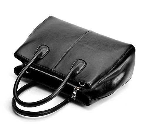 De Señora De Vaca De Piel Bolso Bolso C JPFCAK Bolso De Big Bag Bolso Mano Cera Aceite De La De Bag Cuero De Mano De La Ms Lady Eqw0wU
