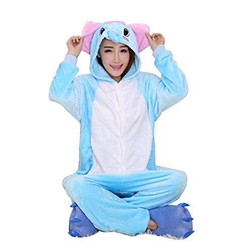 LmeiKKWomens-Cosplay-Flannel-Anime-Cartoon-Onesie-Adult-Pajamas