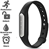 Bingo TW02 Fitness Excercise Band Built In With 3 Indicator Lights- BLACK