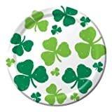 Luck of the Irish St. Patrick's Day 7 inch Plates