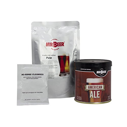 Mr. Beer American Ale Deluxe Home Brewing Beer Refill - Refill Ale Pale