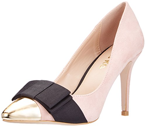 Zapatos Beige Cerrada de KG para Nude Miss Mujer con Alyssa Tacón Punta vnE0Uwx0