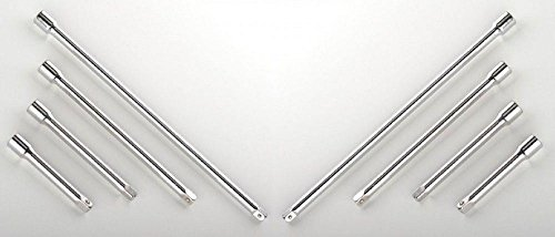 socket-wrenches-8pc-3-8-1-2-long-extension-bar-set-3-5-6-8-10-socket-ratchet-new
