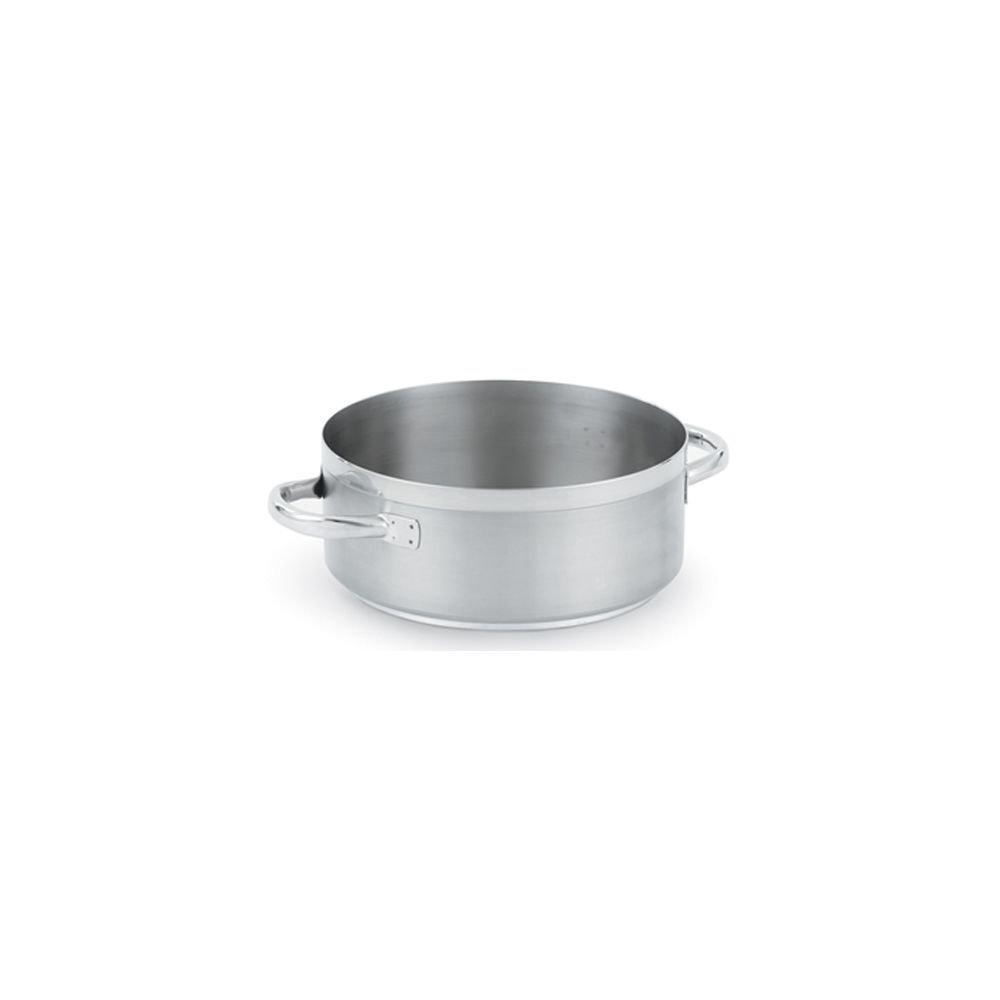 Vollrath (3328) 28-1/2 qt Induction Casserole/Brazier Pan