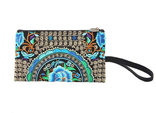 - Vintage Small Travel Crossbody Bag for Women, Cell Phone Purse Wrist-let Handbag (#03:Size Small)