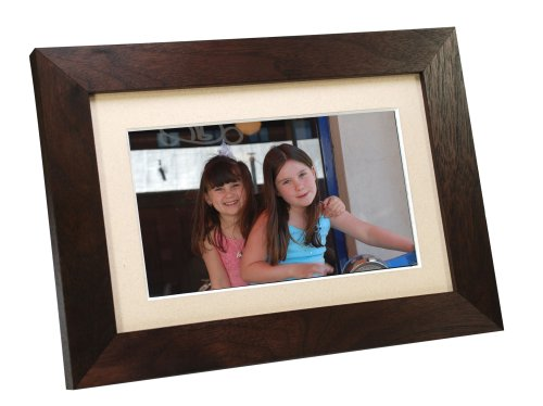 Smartparts SP700W 7-Inch Digital Picture Wood Frame