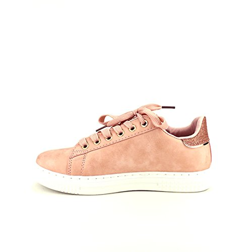 Chaussures Vivi Cendriyon Femme Sneakers QUENN Rose Pailletes rpXAtqXw