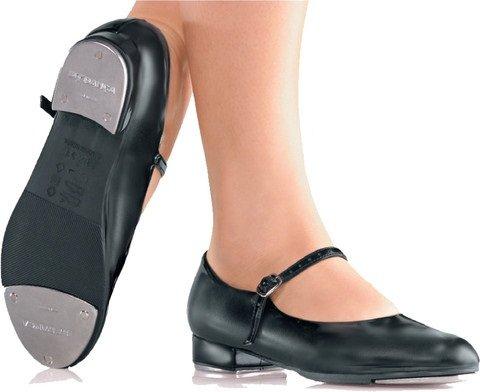 Strap TA06 Basic Black Riveted Danca Tap Shoe Children's So waBHxTq